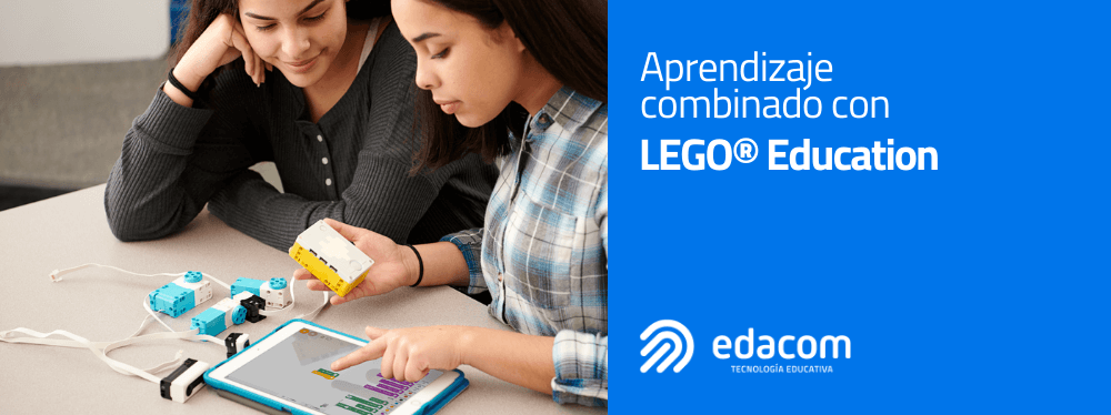 Aprendizaje combinado con LEGO® Education