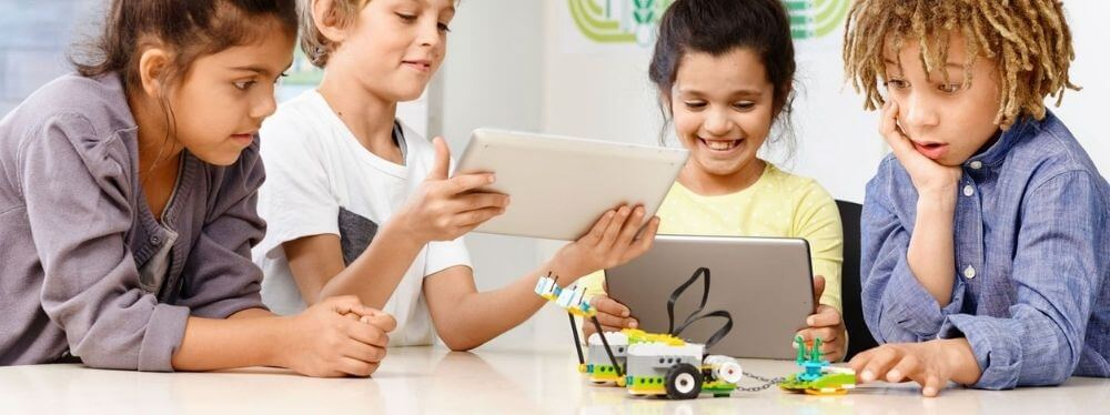 Aprendizaje híbrido (virtual y presencial) con LEGO® Education